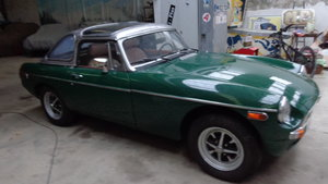 Picture of 1979 MG B LHD HARD TOP BERMUDA For Sale