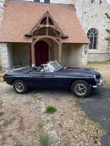 Picture of 1974 mg b lhd Navy blue For Sale