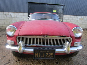 Picture of 1964 MGB Roadster Pull Handle Restoration Project DRY STATE CAR. For Sale