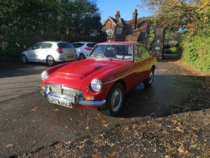 MG C GT 1968 - To be auctioned 26-03-21
