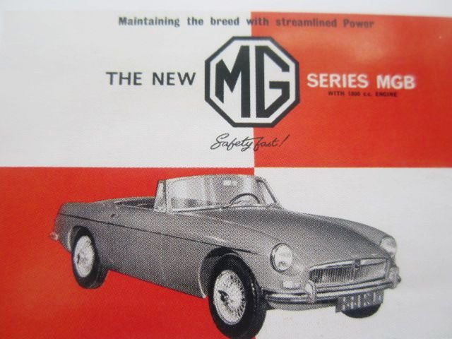 0000 MG MGA MGB  ETC MEMORABILIA FOR SALE For Sale (picture 9 of 12)