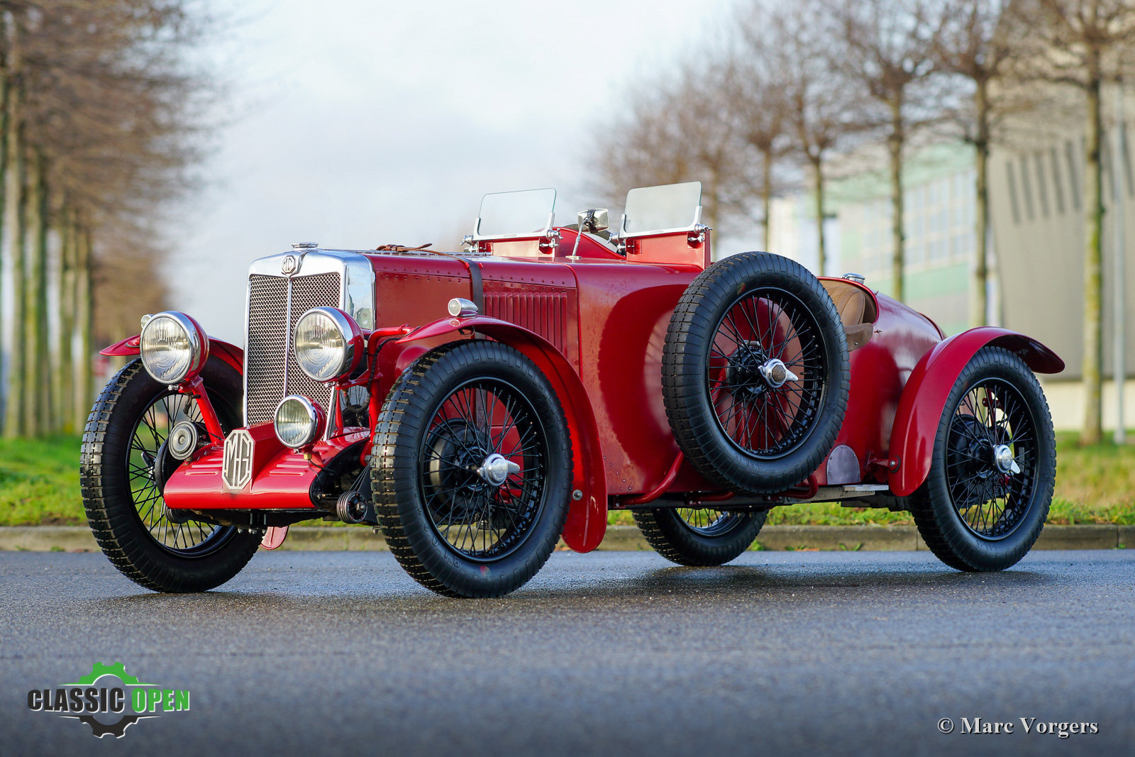 Excellent MG TA Q-type Special 1937 For Sale (picture 1 of 12)