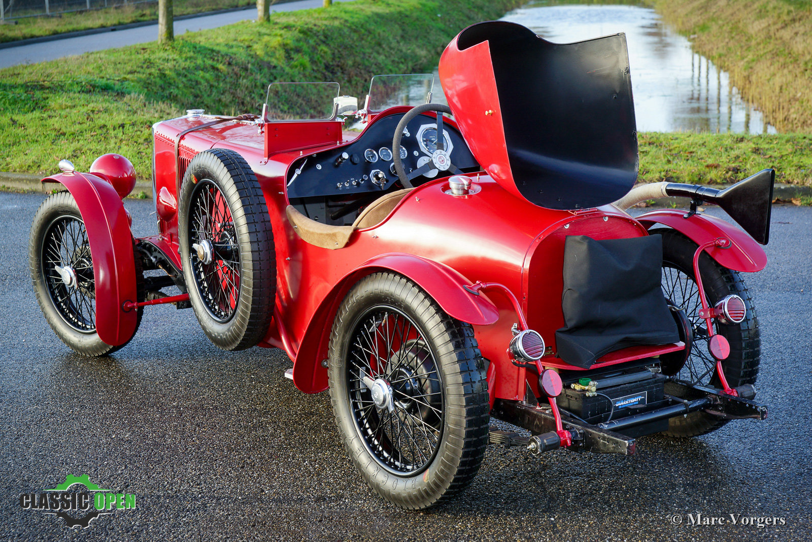 Excellent MG TA Q-type Special 1937 For Sale (picture 9 of 12)