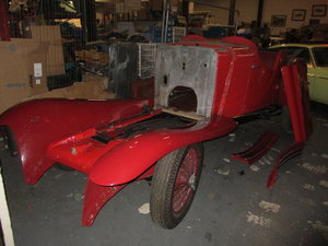 Picture of 1934 4-seater  sports tourer body only for prewar MG