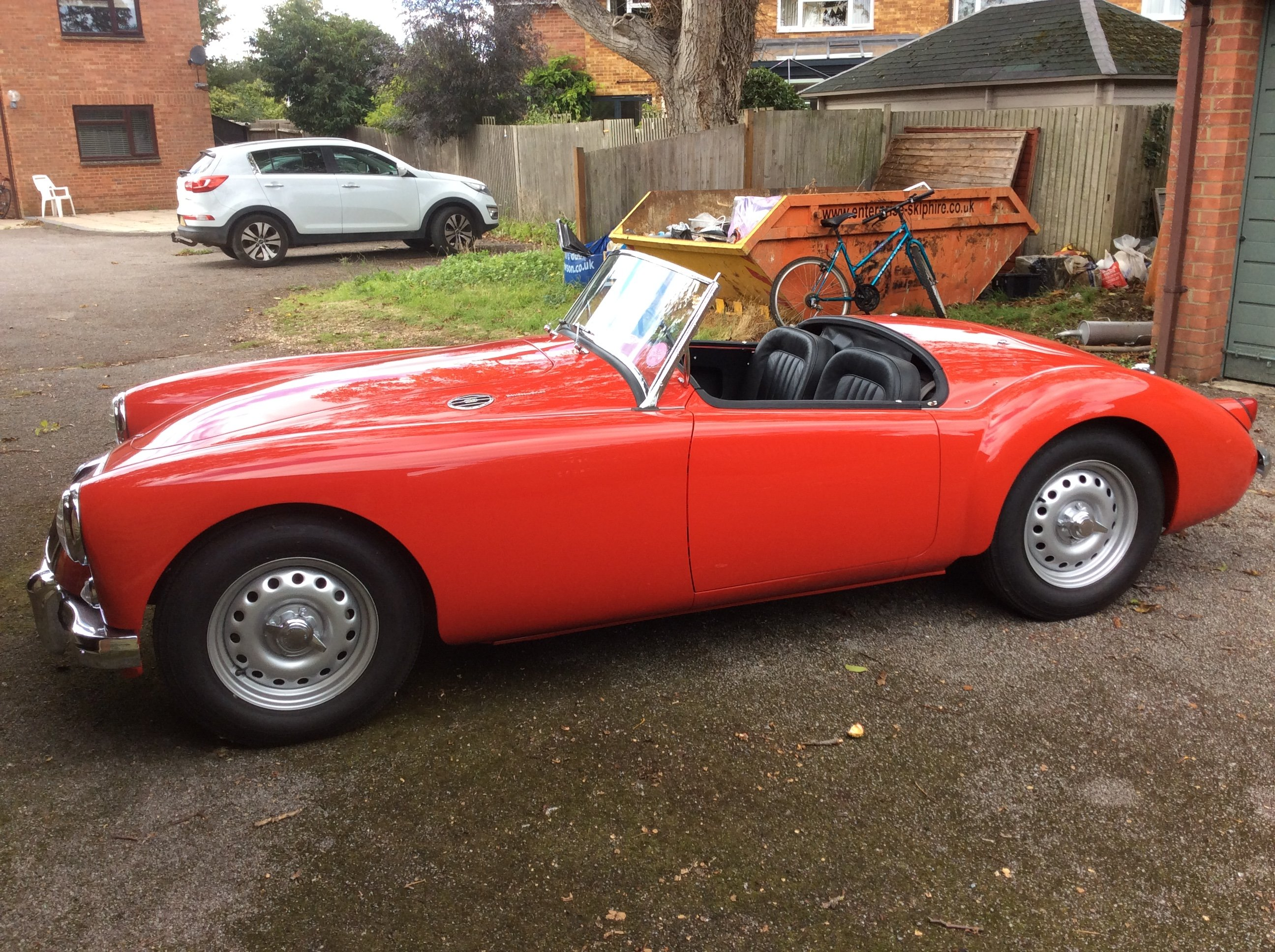 1959 MGA Twin Cam in mint condition For Sale (picture 10 of 12)