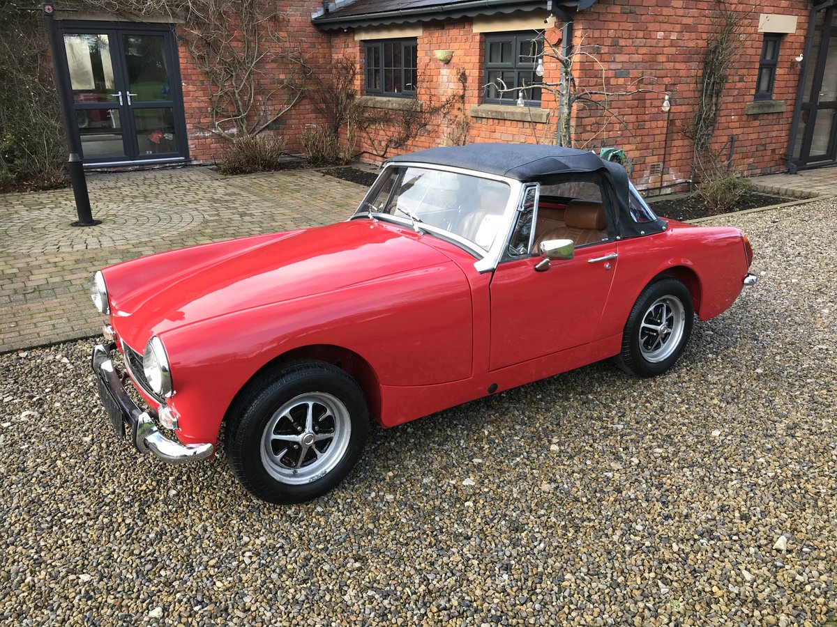1972 MG Midget, Round Wheel Arch, 1275cc For Sale (picture 1 of 12)