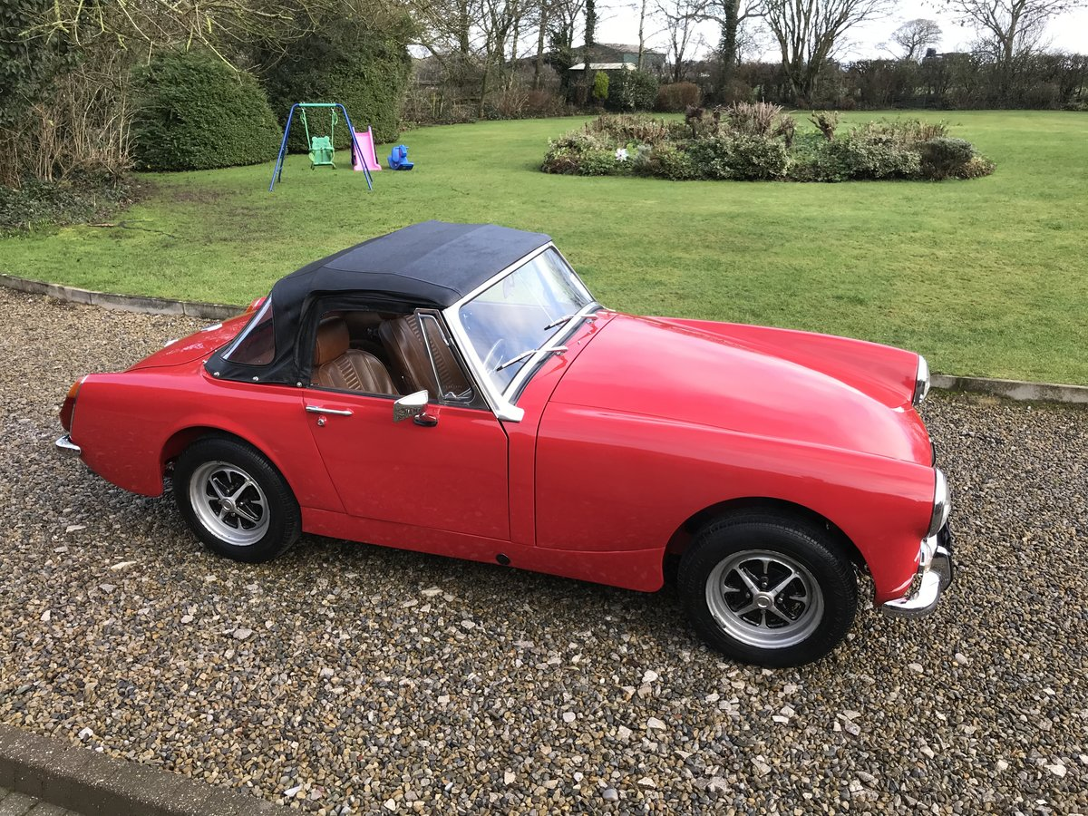 1972 MG Midget, Round Wheel Arch, 1275cc For Sale (picture 2 of 12)