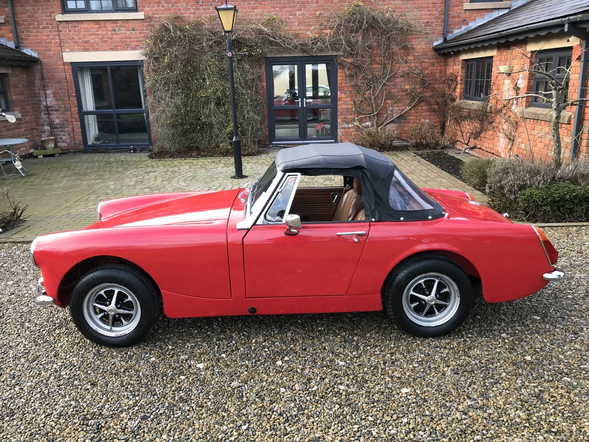 1972 MG Midget, Round Wheel Arch, 1275cc For Sale (picture 3 of 12)