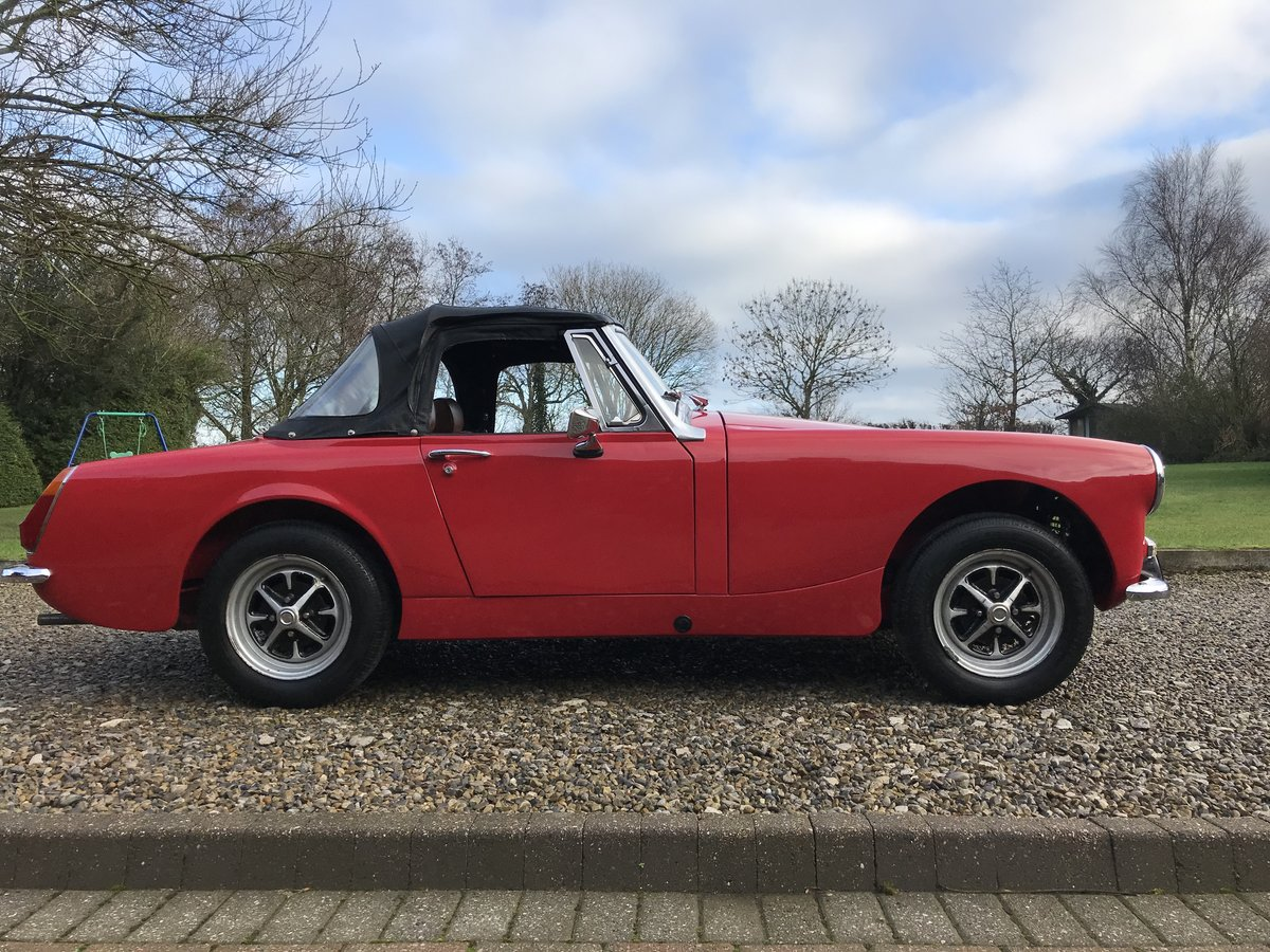 1972 MG Midget, Round Wheel Arch, 1275cc For Sale (picture 4 of 12)