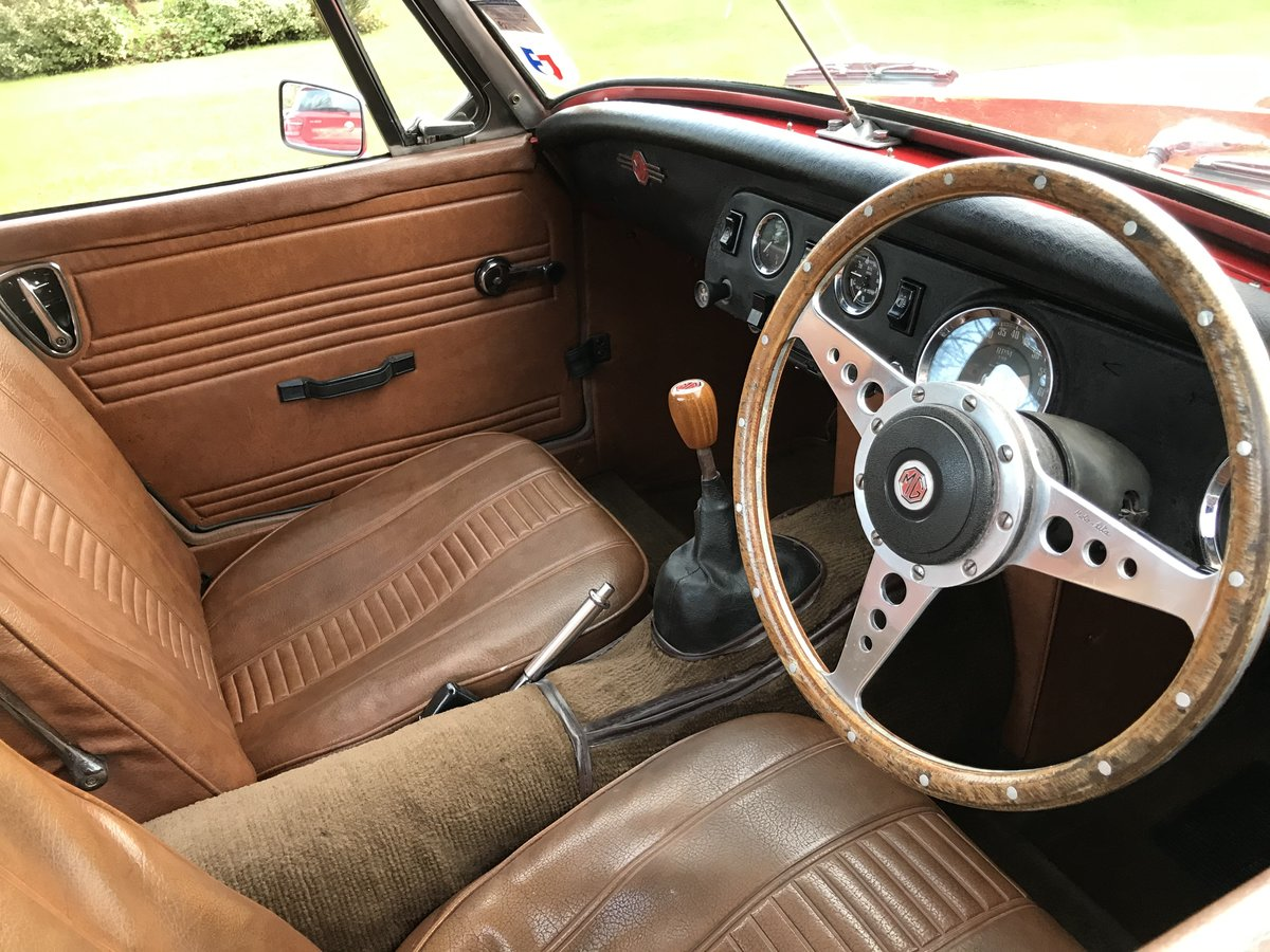 1972 MG Midget, Round Wheel Arch, 1275cc For Sale (picture 6 of 12)