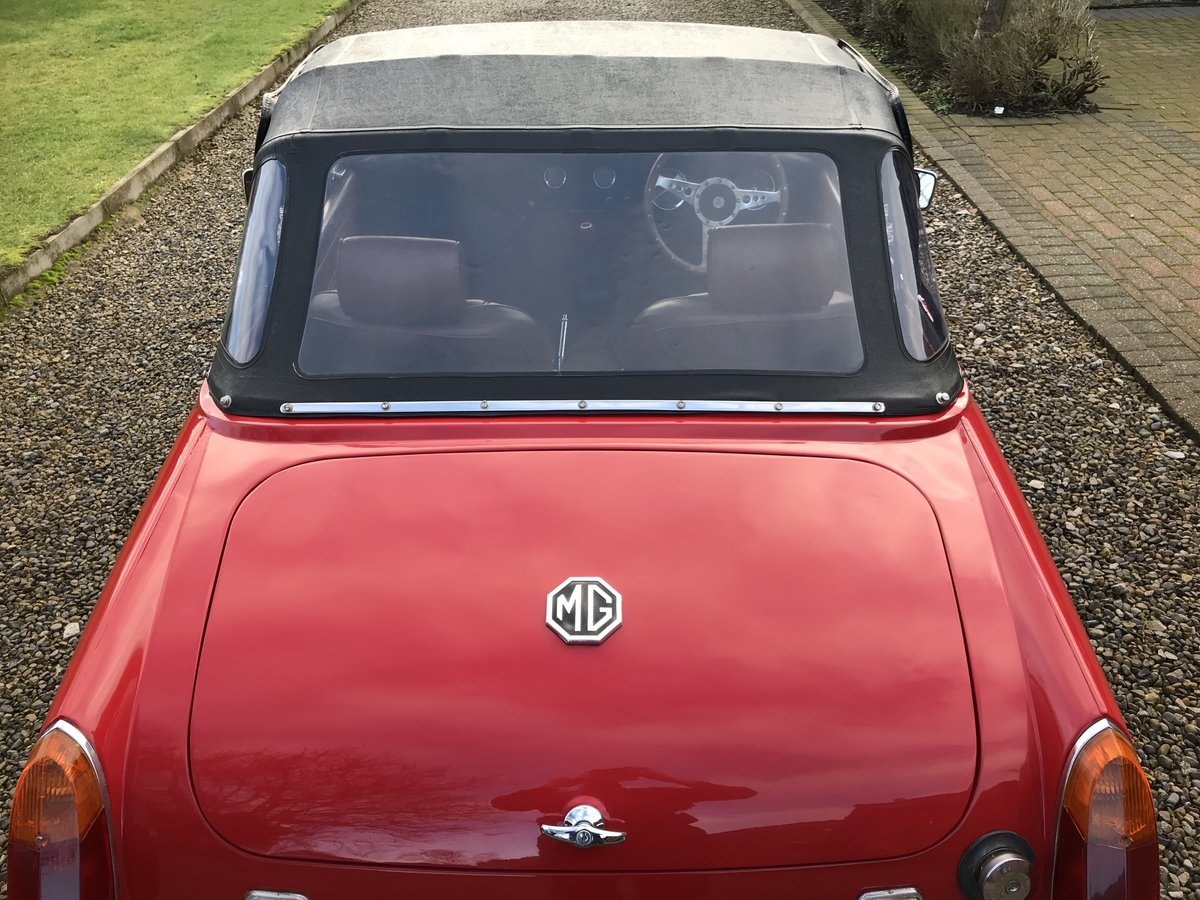 1972 MG Midget, Round Wheel Arch, 1275cc For Sale (picture 8 of 12)