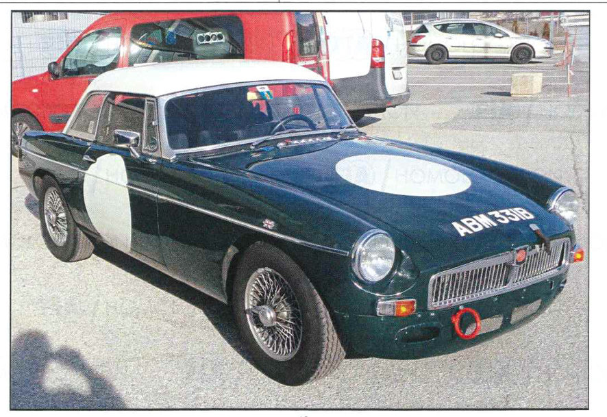 MGB ROADSTER FIA RACE/RALLY CAR 1963 For Sale (picture 1 of 2)