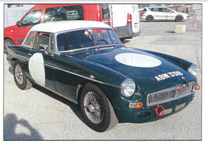 MGB ROADSTER FIA RACE/RALLY CAR 1963