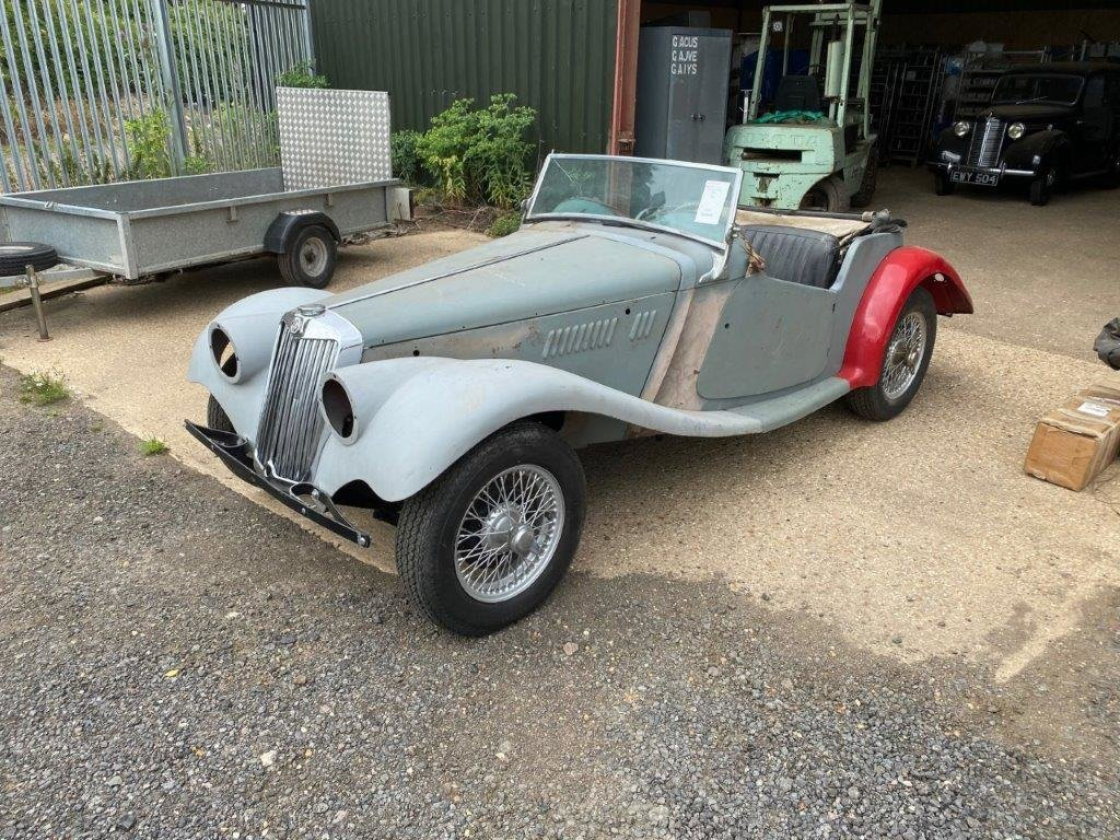 MG TF 1954, FOR RESTORATION For Sale (picture 1 of 12)