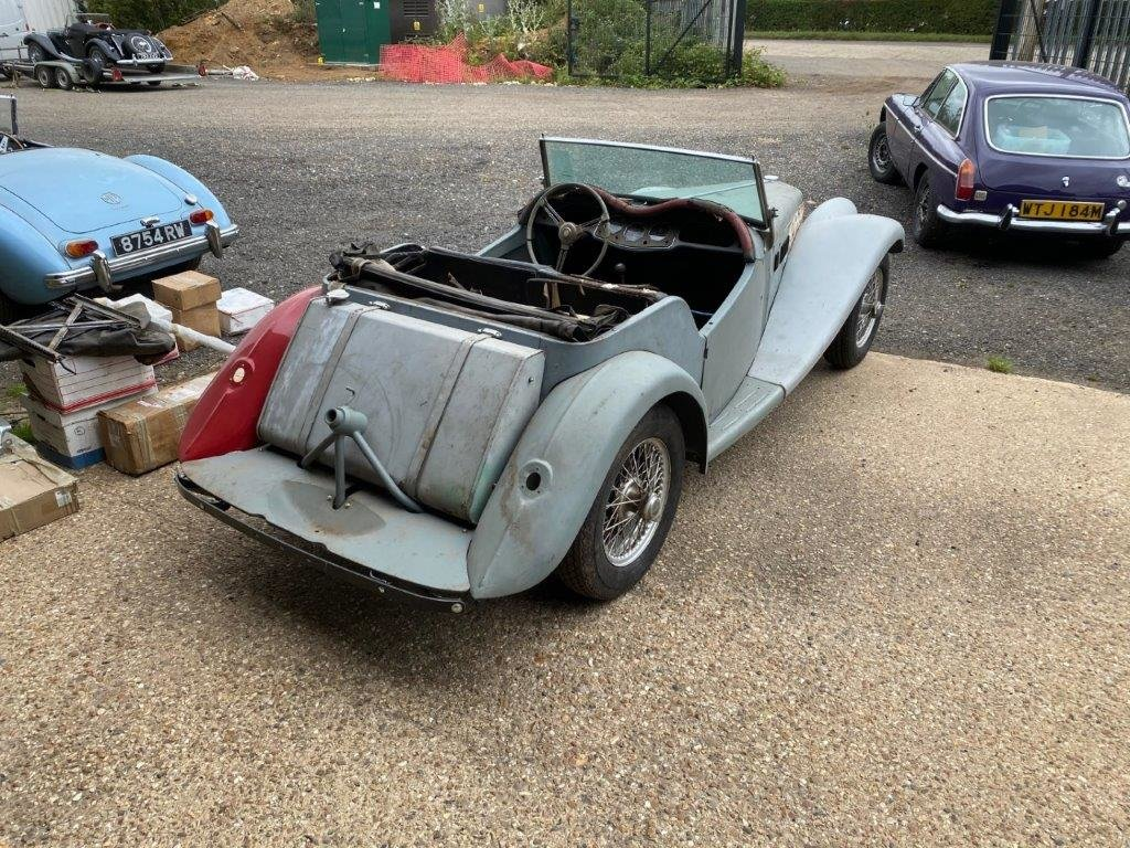 MG TF 1954, FOR RESTORATION For Sale (picture 3 of 12)
