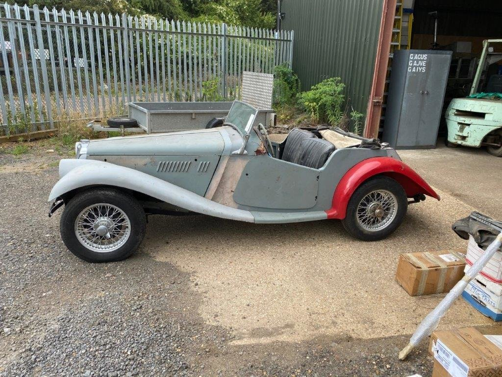 MG TF 1954, FOR RESTORATION For Sale (picture 9 of 12)