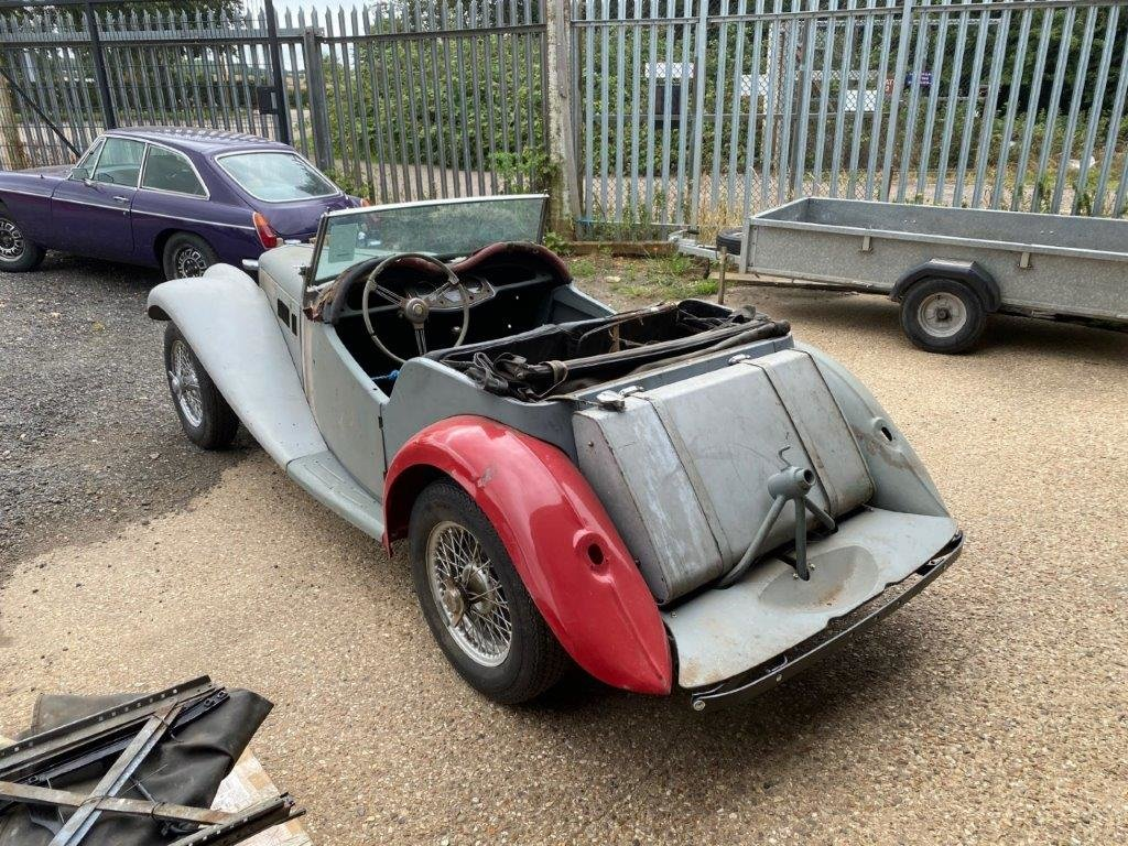 MG TF 1954, FOR RESTORATION For Sale (picture 12 of 12)