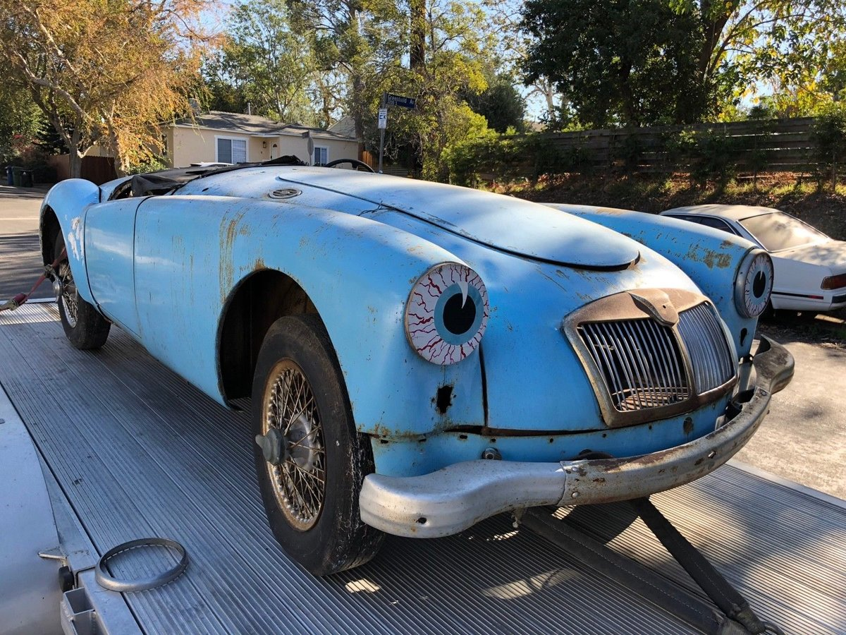 1959 MGA ROADSTER 1600 FOR RESTORATION For Sale (picture 1 of 6)
