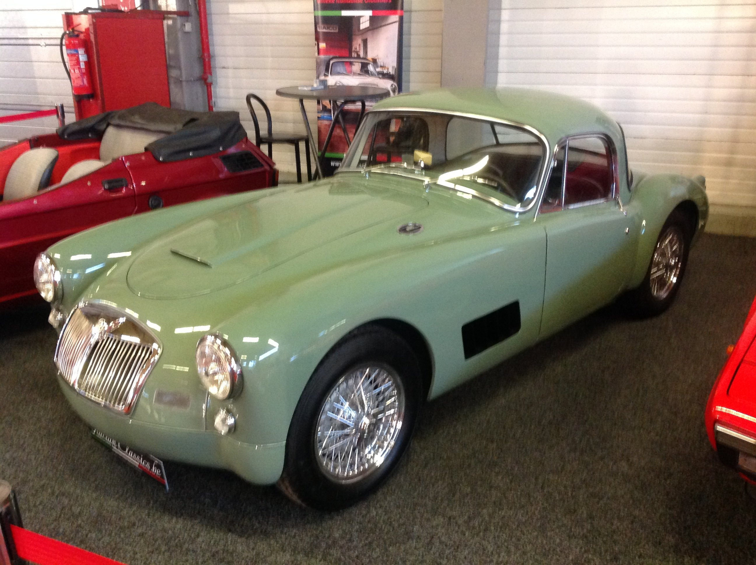 MGA 1500 coupe RACER-look 1958 a real one-off !!!