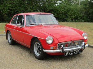 Picture of 1972 MG B GT NO RESERVE at ACA 13th and 14th February For Sale by Auction