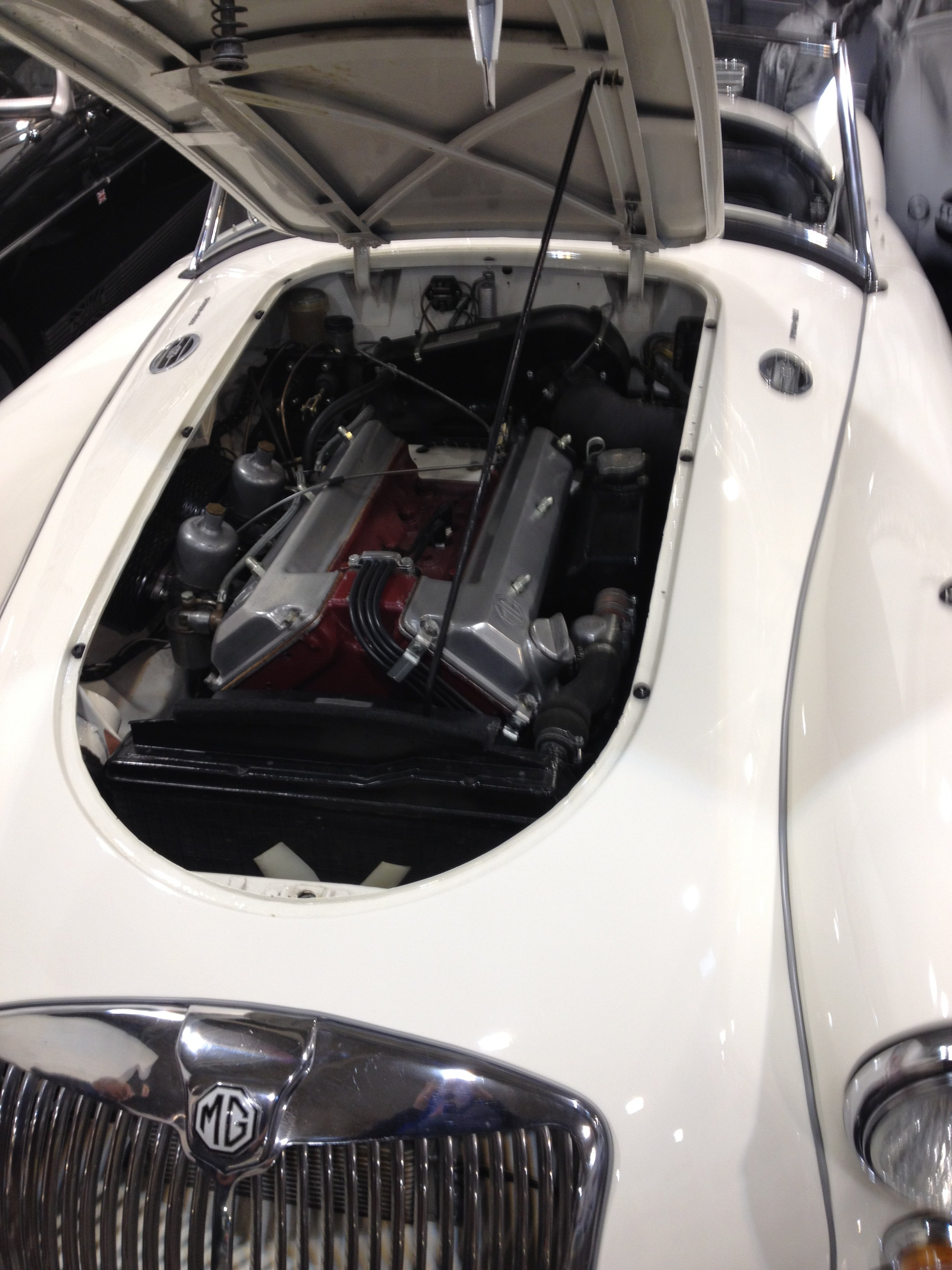 1959 MGA Twin Cam Right Hand Drive Convertible For Sale (picture 4 of 7)