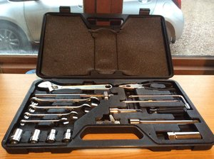 Like new MG F/TF Tool KIT