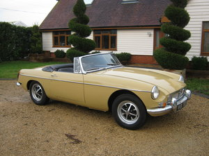 Picture of 1970 MGB ROADSTER. OVERDRIVE. RECENT PAINT. ONLY 2 OWNERS SOLD