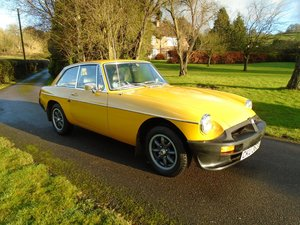 Picture of 1979 MGB GT with Overdrive SOLD