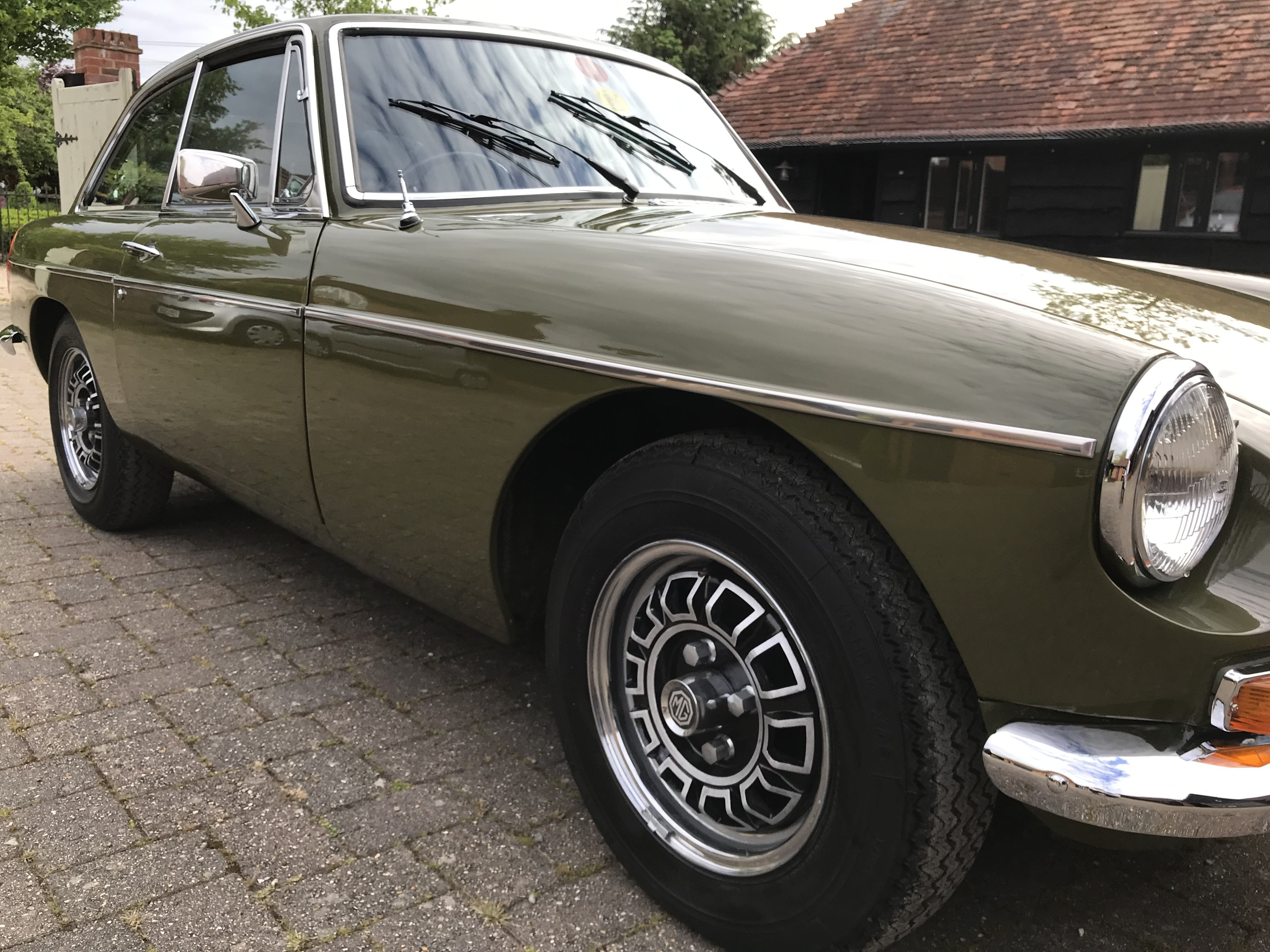 1975 MG BGT low mileage for the year For Sale (picture 10 of 12)
