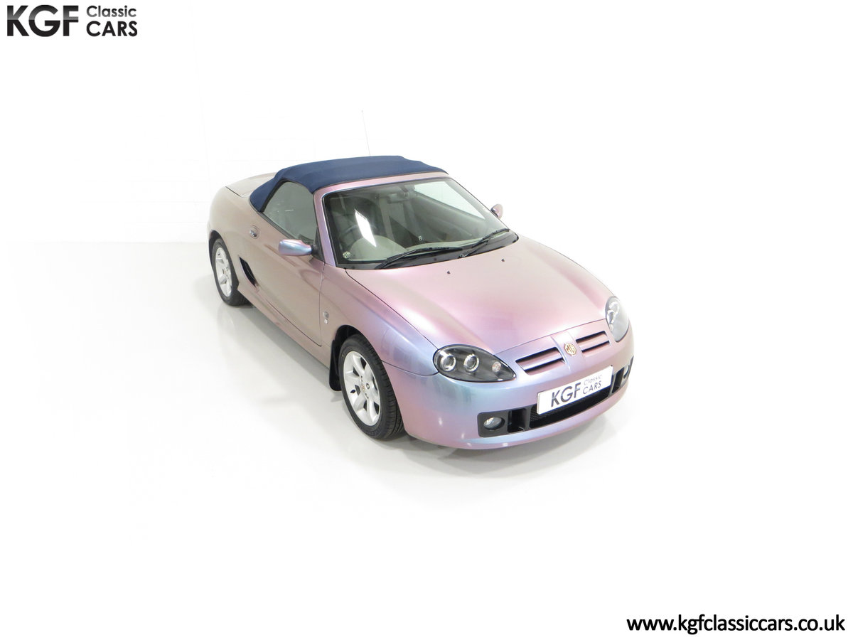 2003 An Ultra-Rare MG TF 135 in Special Order Monogram For Sale (picture 2 of 30)