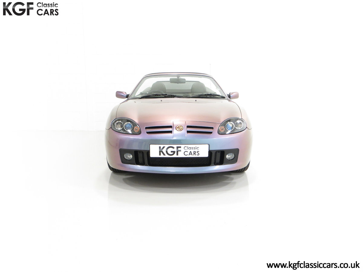 2003 An Ultra-Rare MG TF 135 in Special Order Monogram For Sale (picture 3 of 30)