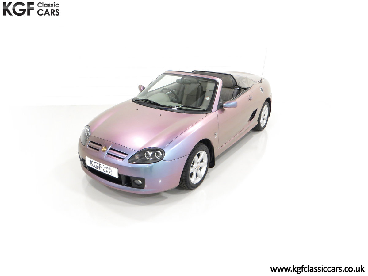 2003 An Ultra-Rare MG TF 135 in Special Order Monogram For Sale (picture 5 of 30)