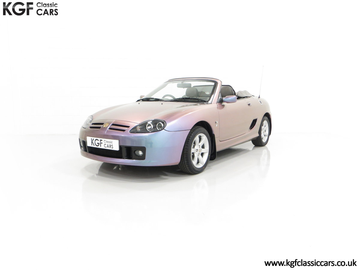 2003 An Ultra-Rare MG TF 135 in Special Order Monogram For Sale (picture 6 of 30)