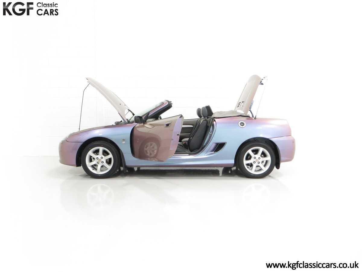 2003 An Ultra-Rare MG TF 135 in Special Order Monogram For Sale (picture 7 of 30)
