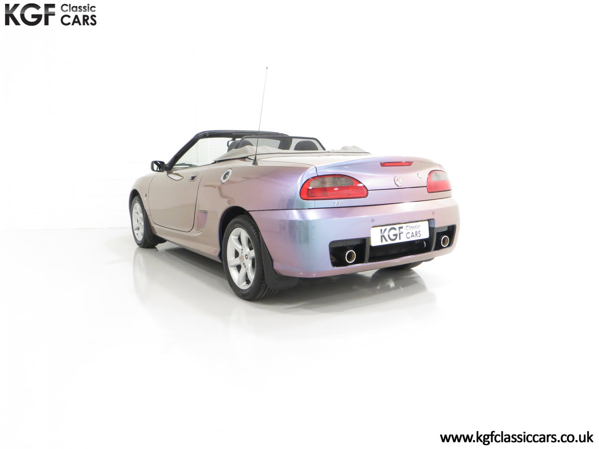 2003 An Ultra-Rare MG TF 135 in Special Order Monogram For Sale (picture 8 of 30)