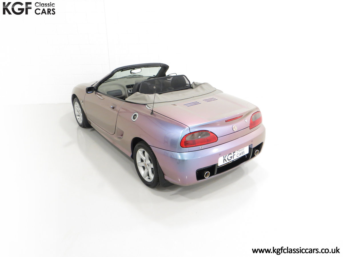 2003 An Ultra-Rare MG TF 135 in Special Order Monogram For Sale (picture 9 of 30)