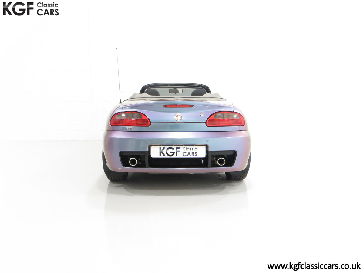 2003 An Ultra-Rare MG TF 135 in Special Order Monogram For Sale (picture 10 of 30)