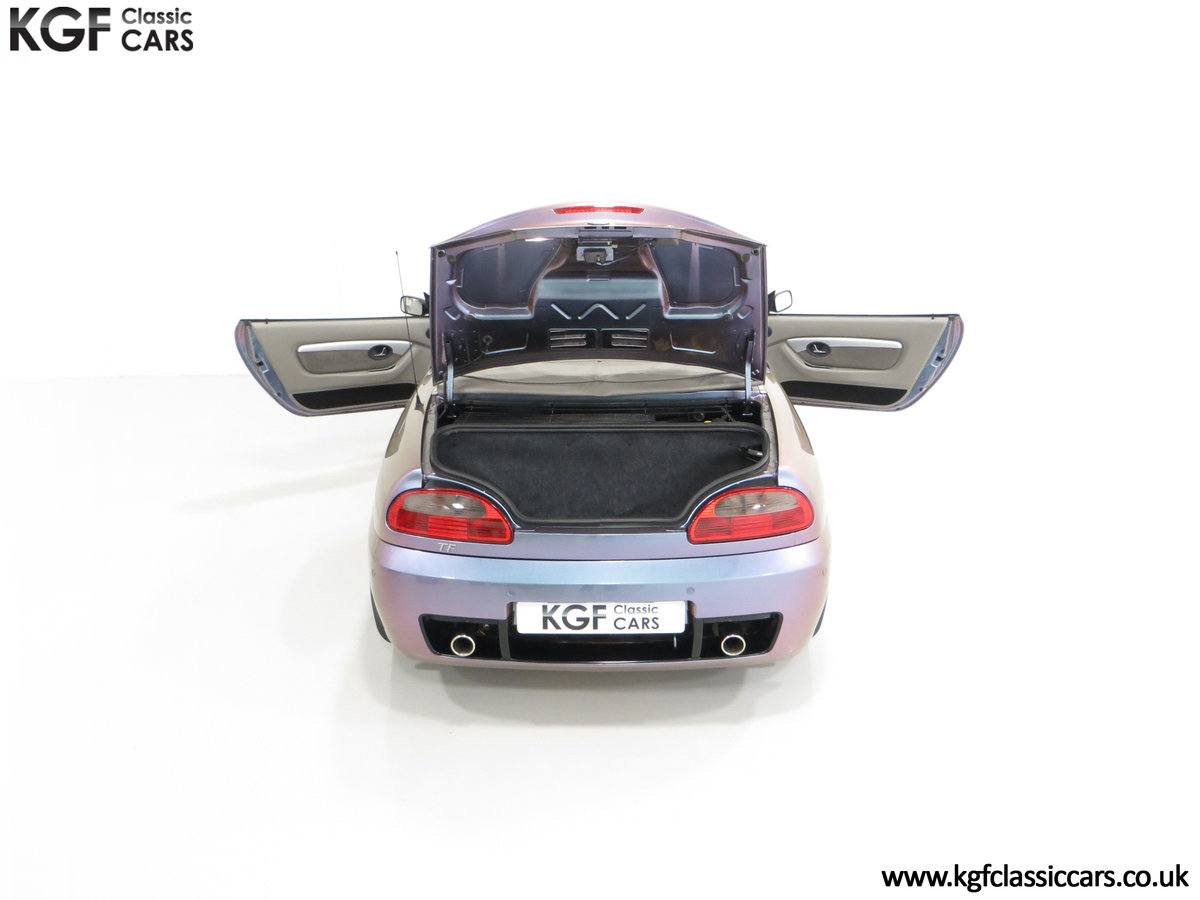2003 An Ultra-Rare MG TF 135 in Special Order Monogram For Sale (picture 11 of 30)
