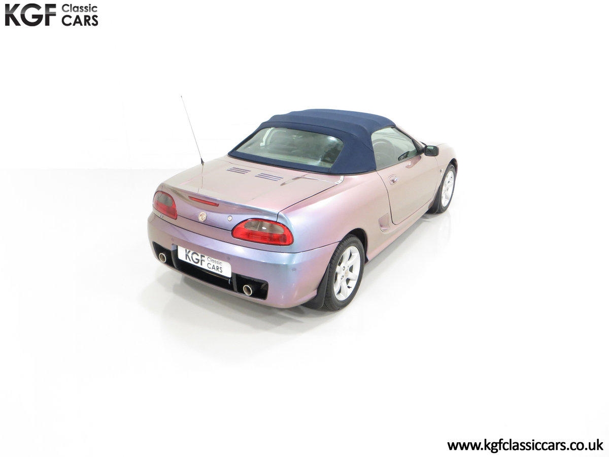 2003 An Ultra-Rare MG TF 135 in Special Order Monogram For Sale (picture 12 of 30)