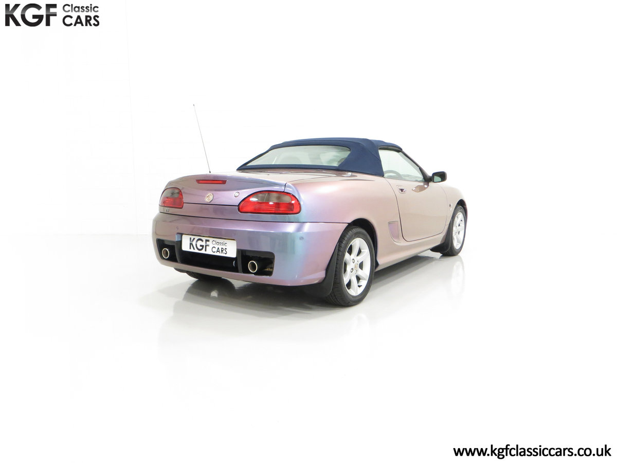 2003 An Ultra-Rare MG TF 135 in Special Order Monogram For Sale (picture 13 of 30)