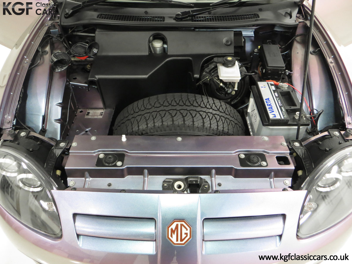2003 An Ultra-Rare MG TF 135 in Special Order Monogram For Sale (picture 15 of 30)