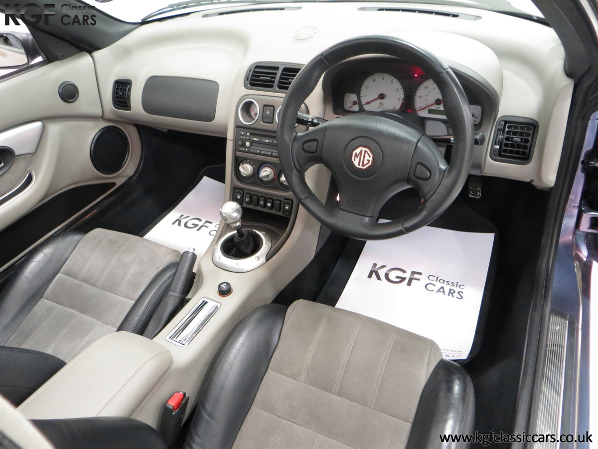 2003 An Ultra-Rare MG TF 135 in Special Order Monogram For Sale (picture 18 of 30)