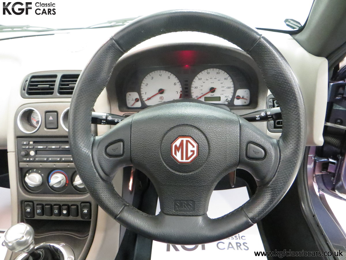2003 An Ultra-Rare MG TF 135 in Special Order Monogram For Sale (picture 29 of 30)