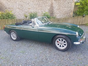 MGB Roadster 1972 Manual with Overdrive.