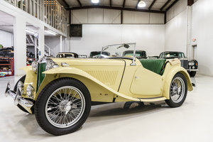 Picture of 1949 MG TC SUPERCHARGED EXU ROADSTER For Sale