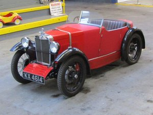Picture of 1930 MG M Type at ACA 13th and 14th February For Sale by Auction
