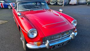 Picture of 1968 MGC Roadster in Tartan Red, UK car, 52000 miles from new For Sale
