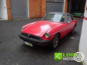 Picture of MG - B GT Coupe 1978 Conservato iscritta ASI- Guida a destr For Sale