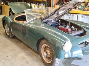 For sale 1958 MGA 1500cc Roadster