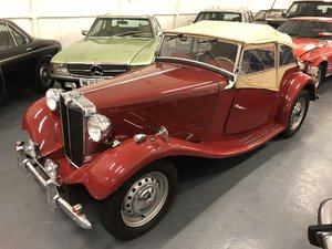 Picture of 1951 MG TD SPORTS - LHD (EX USA DRY CLIMATE) For Sale